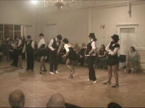 "Chester's Cool Kittens perform to ""Prosschai"" by Arti Shaw and sung by Tony Pastor at a Poughkeepsie dance venue. - Got2Lindy.com"