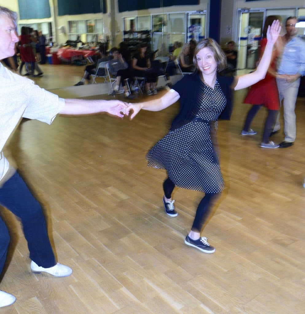 Swing Out Example - Beginner Swing Dance Lessons