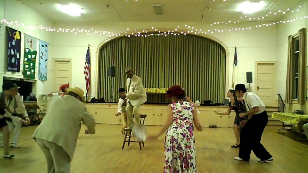 Chester's Cool Cats & Kittens Swing Performance to Lionel Hampton Lavender Coffin, in Port Ewen, NY.