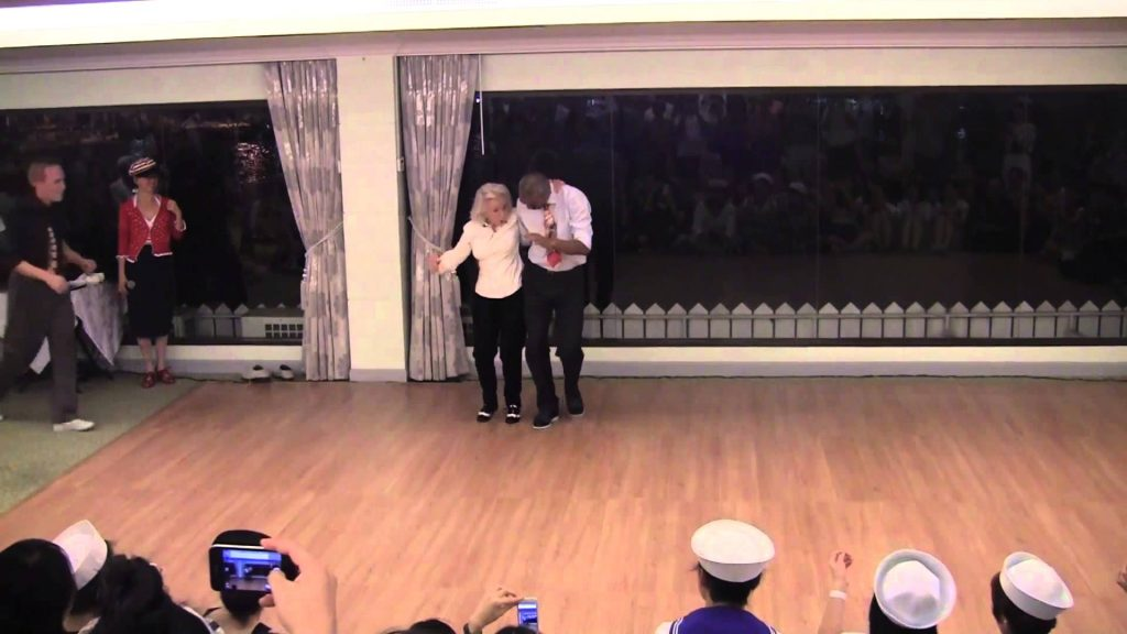 Swing Fever Dancer, Jean Veloz Still Dancing at 90